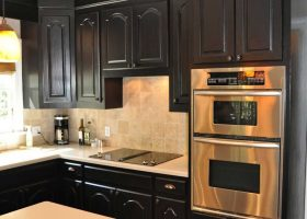 Kitchen Color Ideas with Black Cabinets