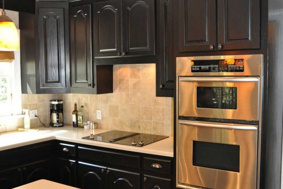 Kitchen Color Ideas With Black Cabinets Layjao