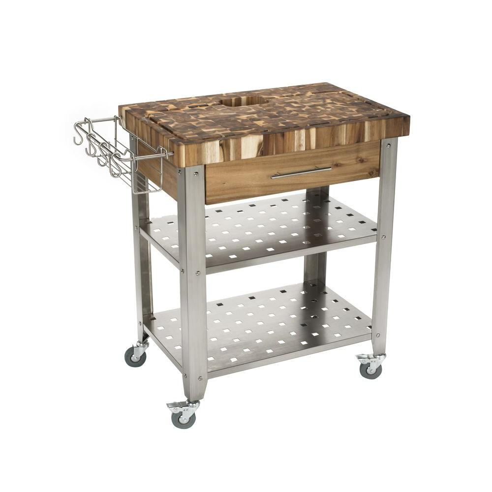 Kitchen Stainless Steel Kitchen Island Bench Portable Kitchen Work