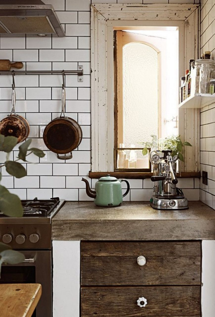 Kitchen Tiny Rustic Kitchen Cabinet 20 Vintage Kitchen Design