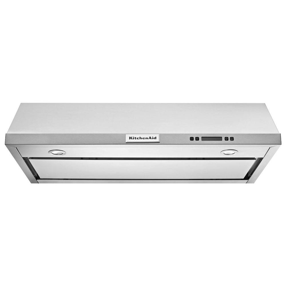 Kitchenaid 30 In Convertible Under Cabinet Range Hood In Stainless