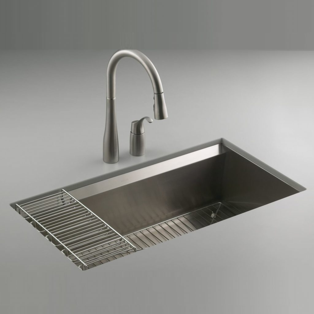 Kohler 8 Degree Stainless Steel Kitchen Sink 3673 Na