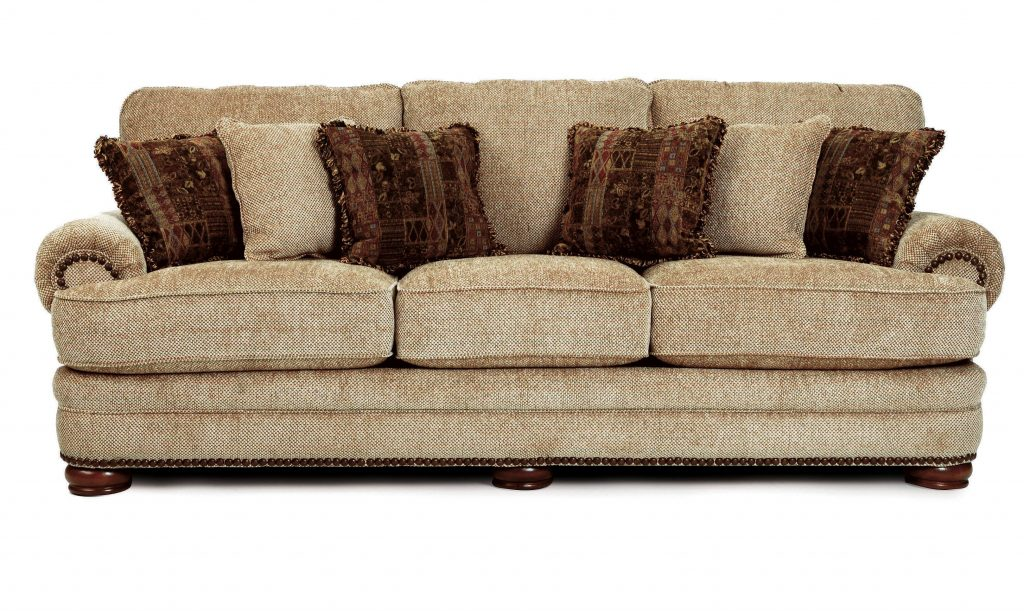Lane Home Furnishings Stanton Lane Stationary Sofa With Nailhead