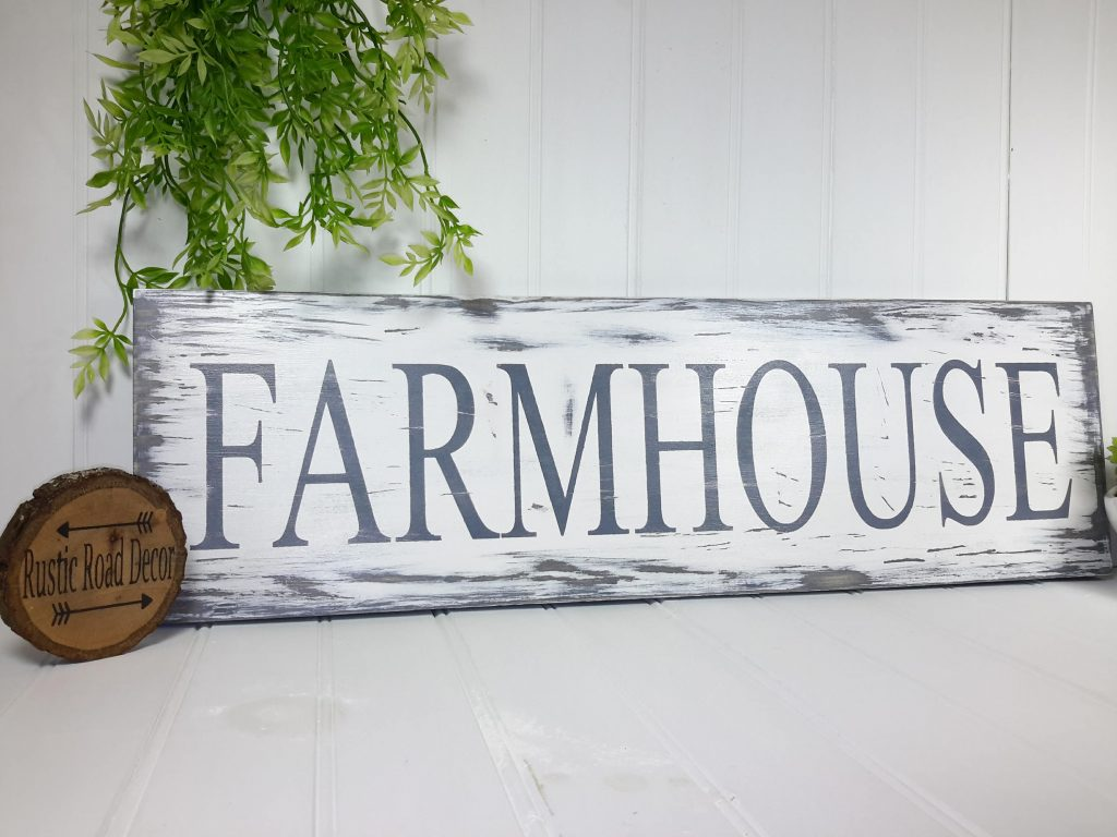 Large Farmhouse Kitchen Sign Fixer Upper Sign Rustic Kitchen Etsy