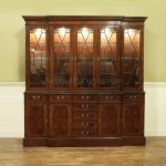 Oak Dining Room China Hutch Cabinet