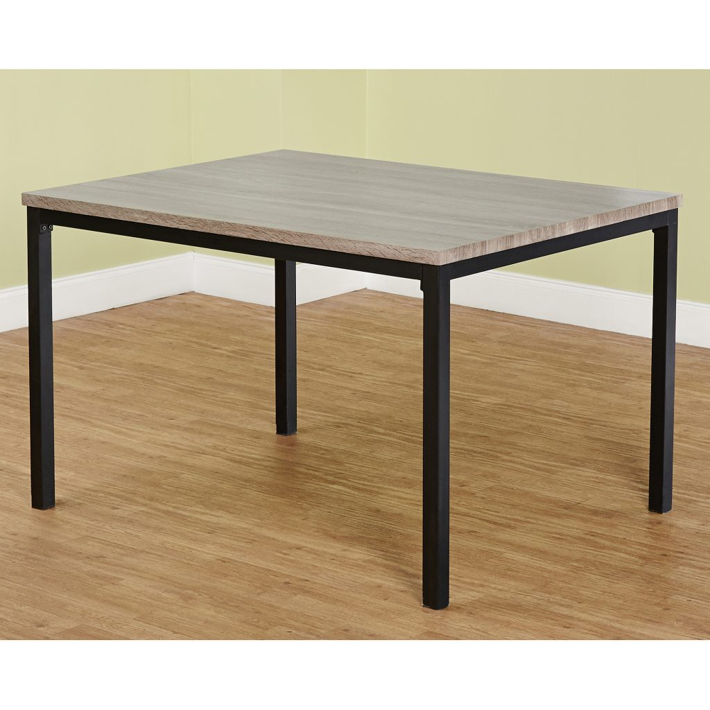 Lenyxx Collection Dining Table Blackgray Walmart
