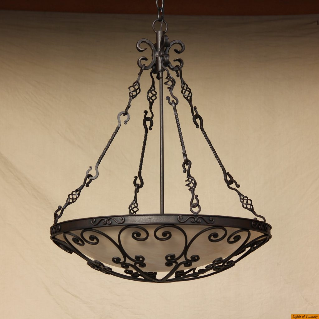 Lights Of Tuscany 2405 6 Mediterranean Spanish Style Wrought Iron