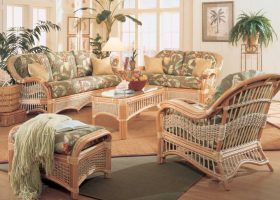 Wicker Rattan Furniture Living Room