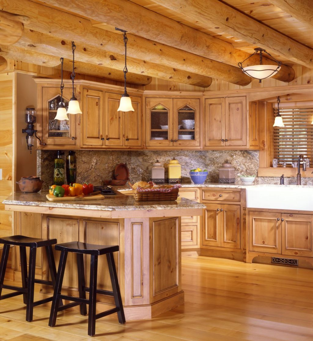 Log Cabin Kitchen Ideas 65 Rustic Home Decor Cabin Inside Escudilla