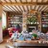 English Country Farmhouse Living Room