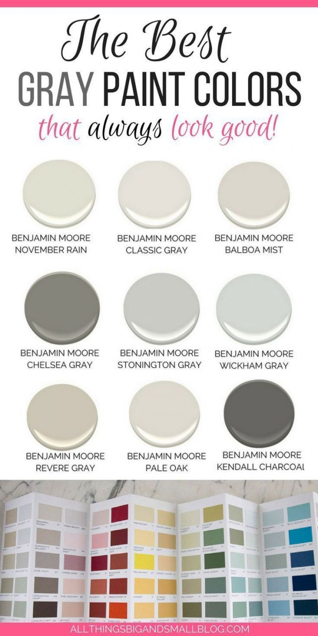 Looking For The Perfect Light Gray Paint Color Most Popular Gray