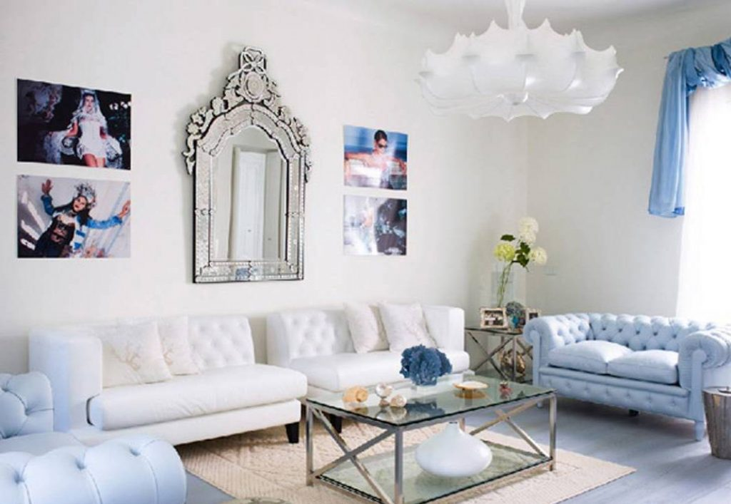 Lovable Blue And Silver Living Room Designs Home Design Ideas