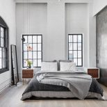 Love This Bedrooms Color Palette Industrial Feel And All The
