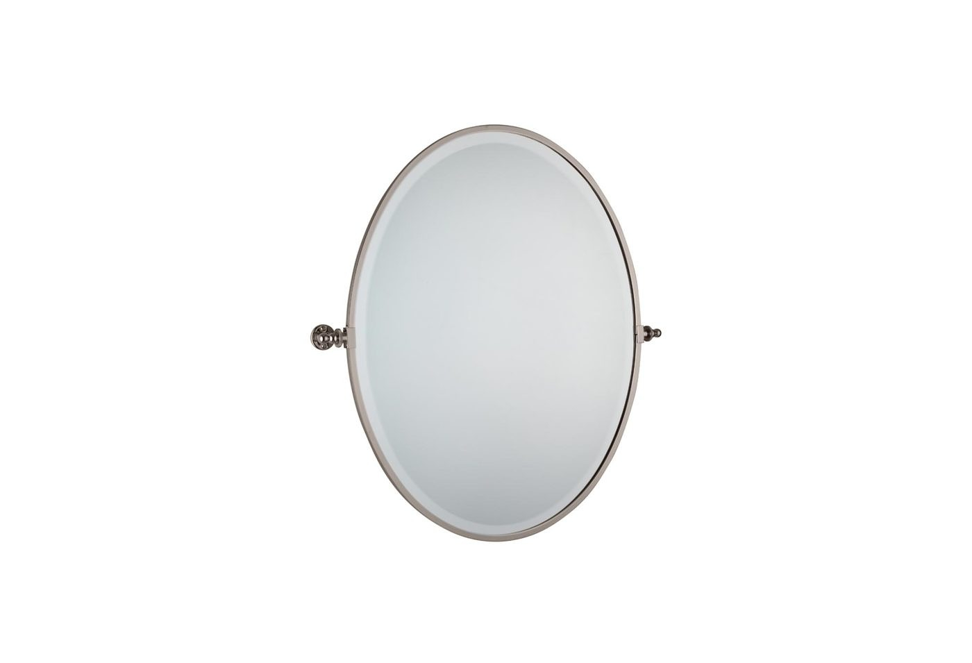 Luxury Wall Mounted Oval Bathroom Mirror Layjao