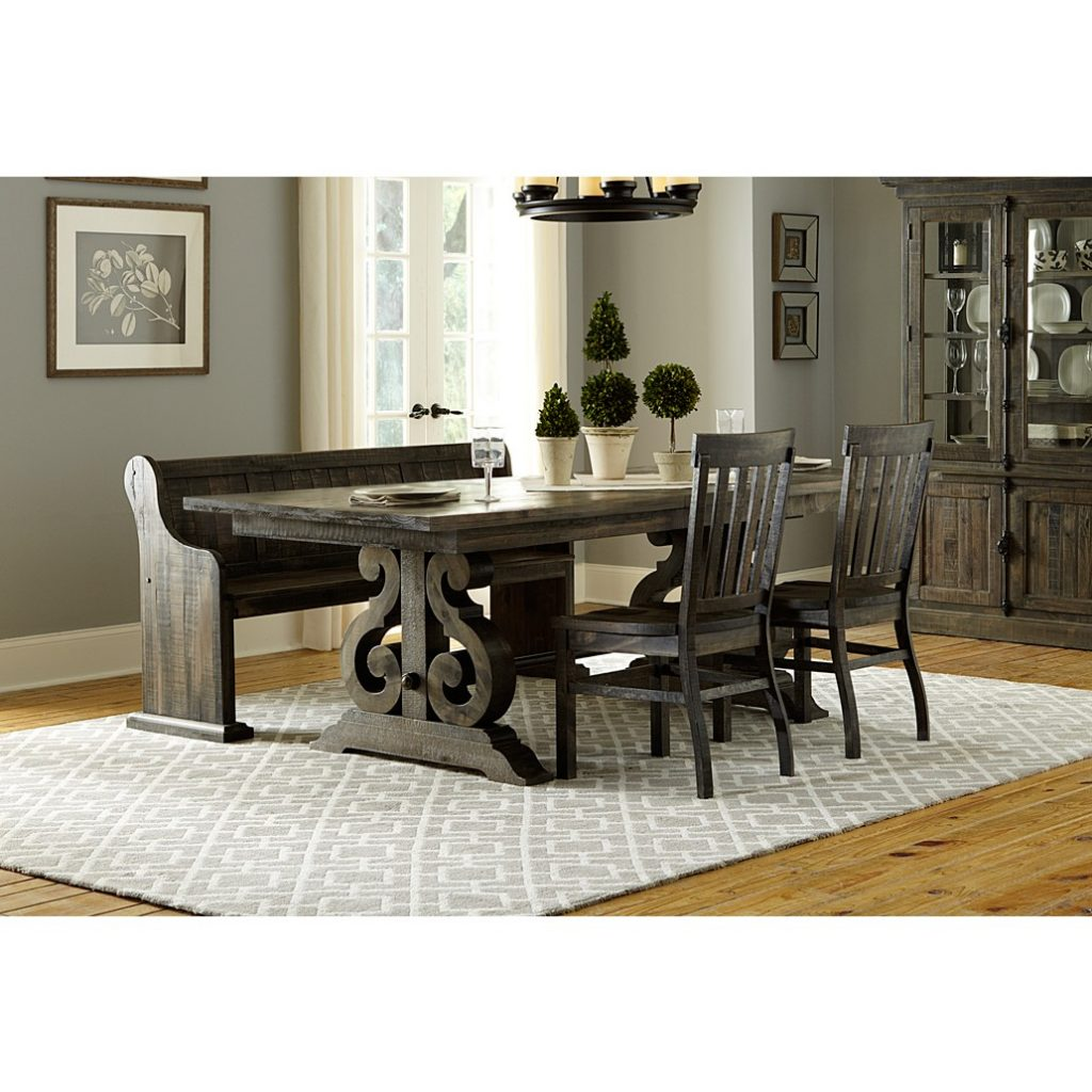 Magnussen Bellamy 4pc Rectangular Dining Table Set