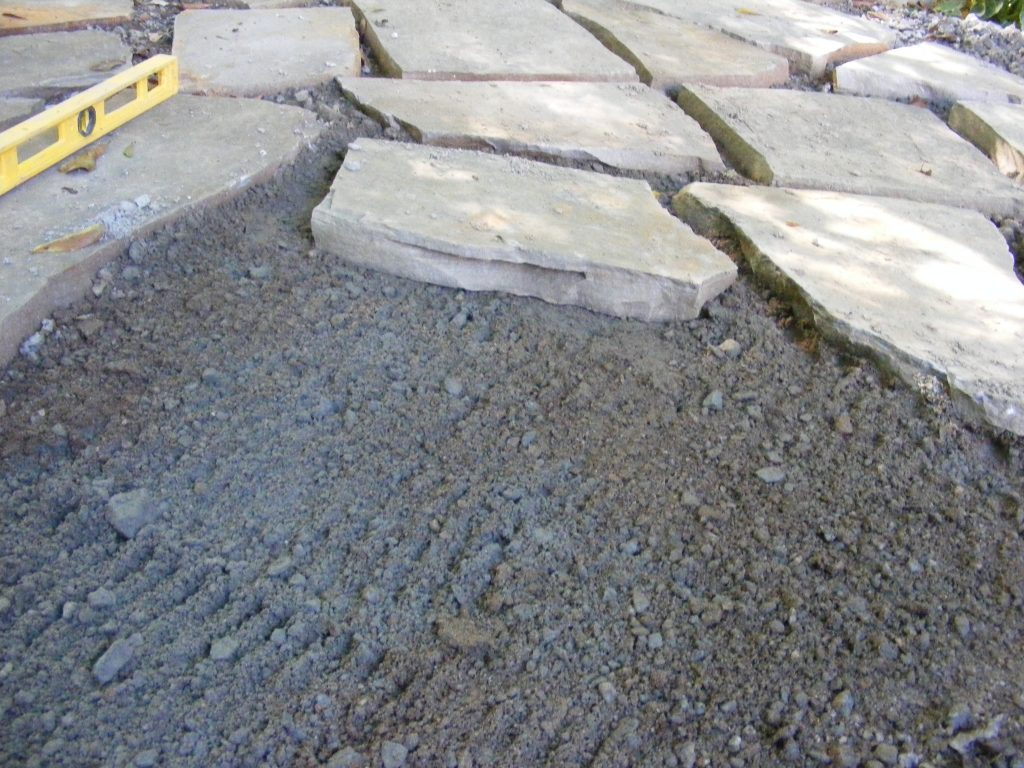 Make A Flagstone Patio