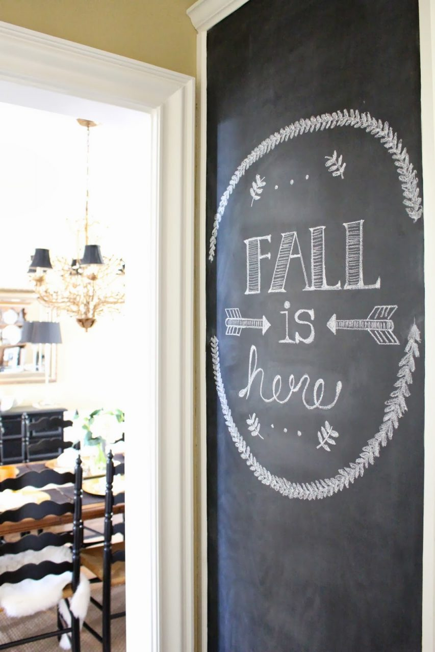 Makeuptiffanyd Kitchen Chalkboard Wall
