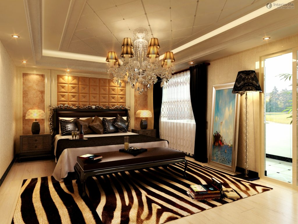 Mapajunction Modern European Style Master Bedroom Ceiling