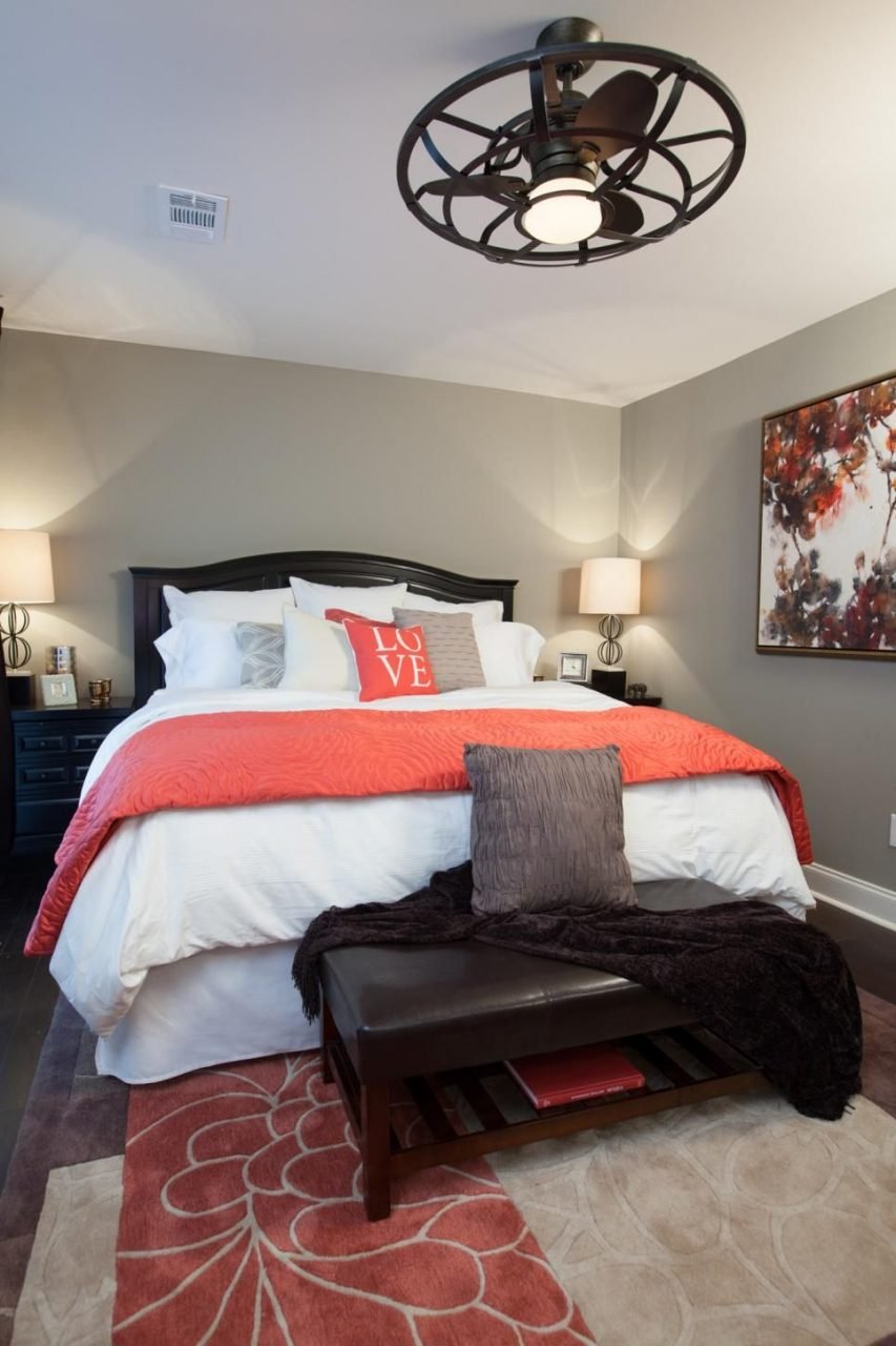 Master Bedroom After This Newly Renovated Bedroom Is Warm And