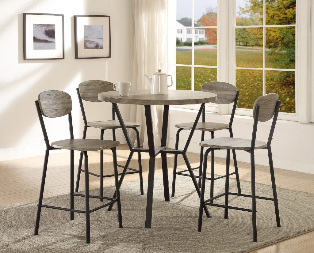 Millwood Pines Felicia 5 Piece Counter Height Dining Set Reviews