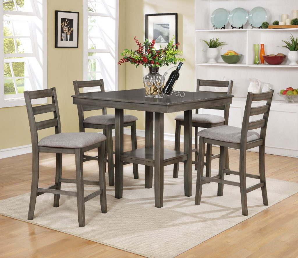 Millwood Pines Sela 5 Piece Counter Height Dining Set Reviews