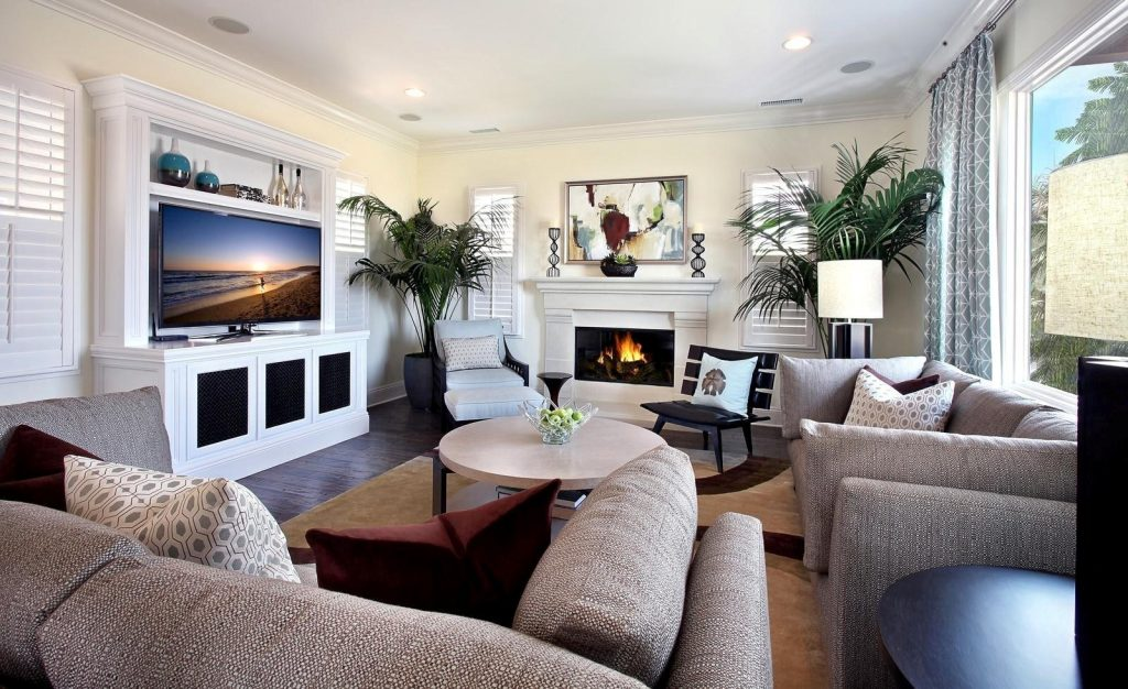 Modern Comfortable Living Room Living Room Ideas