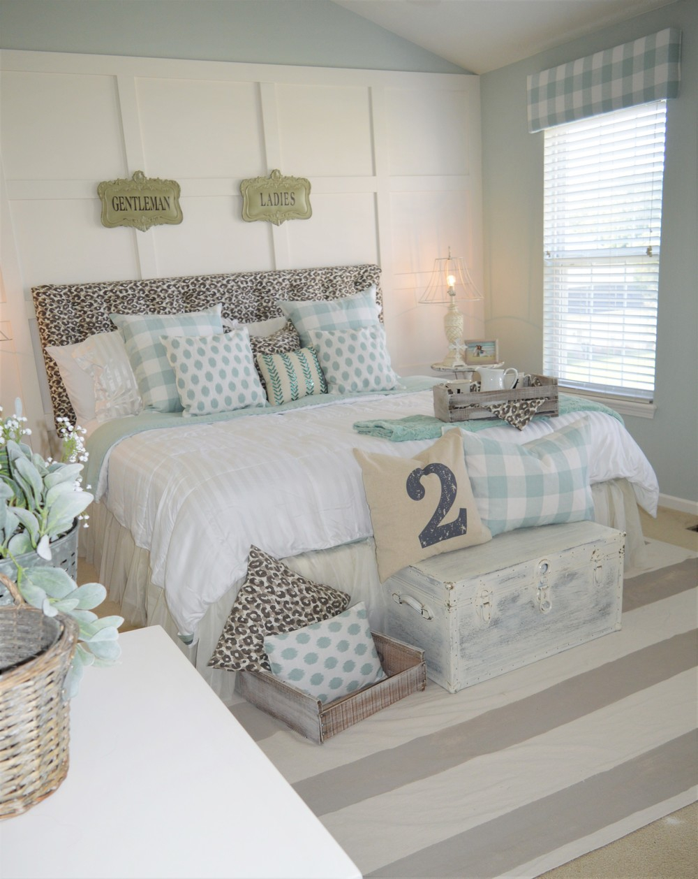 Modern Farmhouse Bedroom Makeover The Other Side Of Neutral
