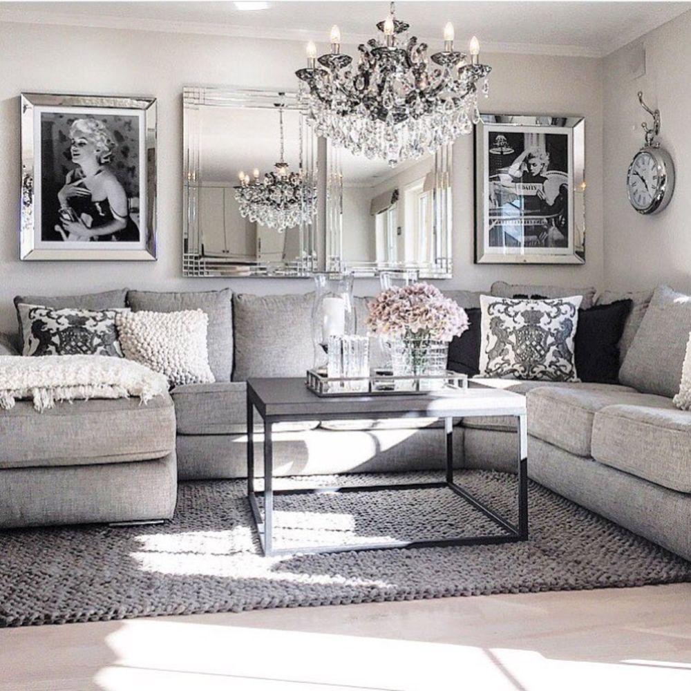 Modern Glam Living Room Decorating Ideas 19 Home Pinterest