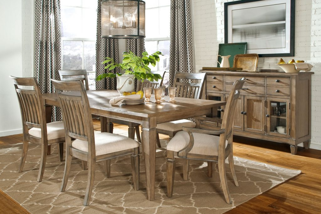 Modern Rustic Kitchen Table Sets 6properonlinenl