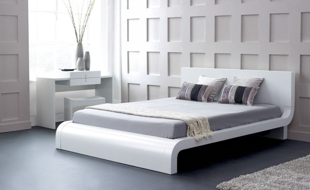 Modrest Roma Modern White Bedroom Set
