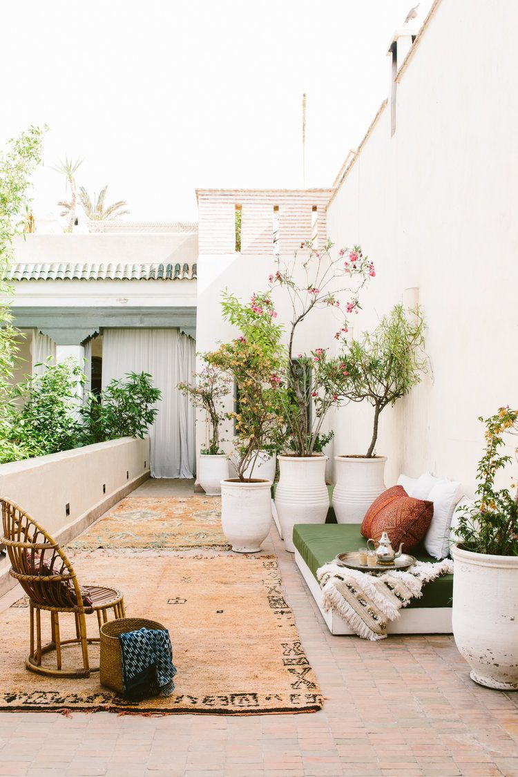 Moroccan Inspired Outdoor Patio Space Decorate Outdoor Spaces