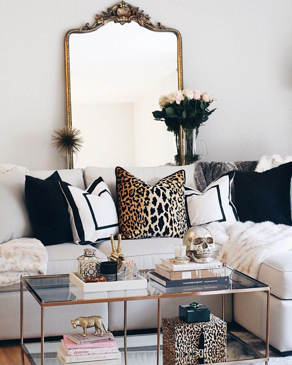 My Favorite Decor Purchases I Bought To Style Our Modern Glam Living