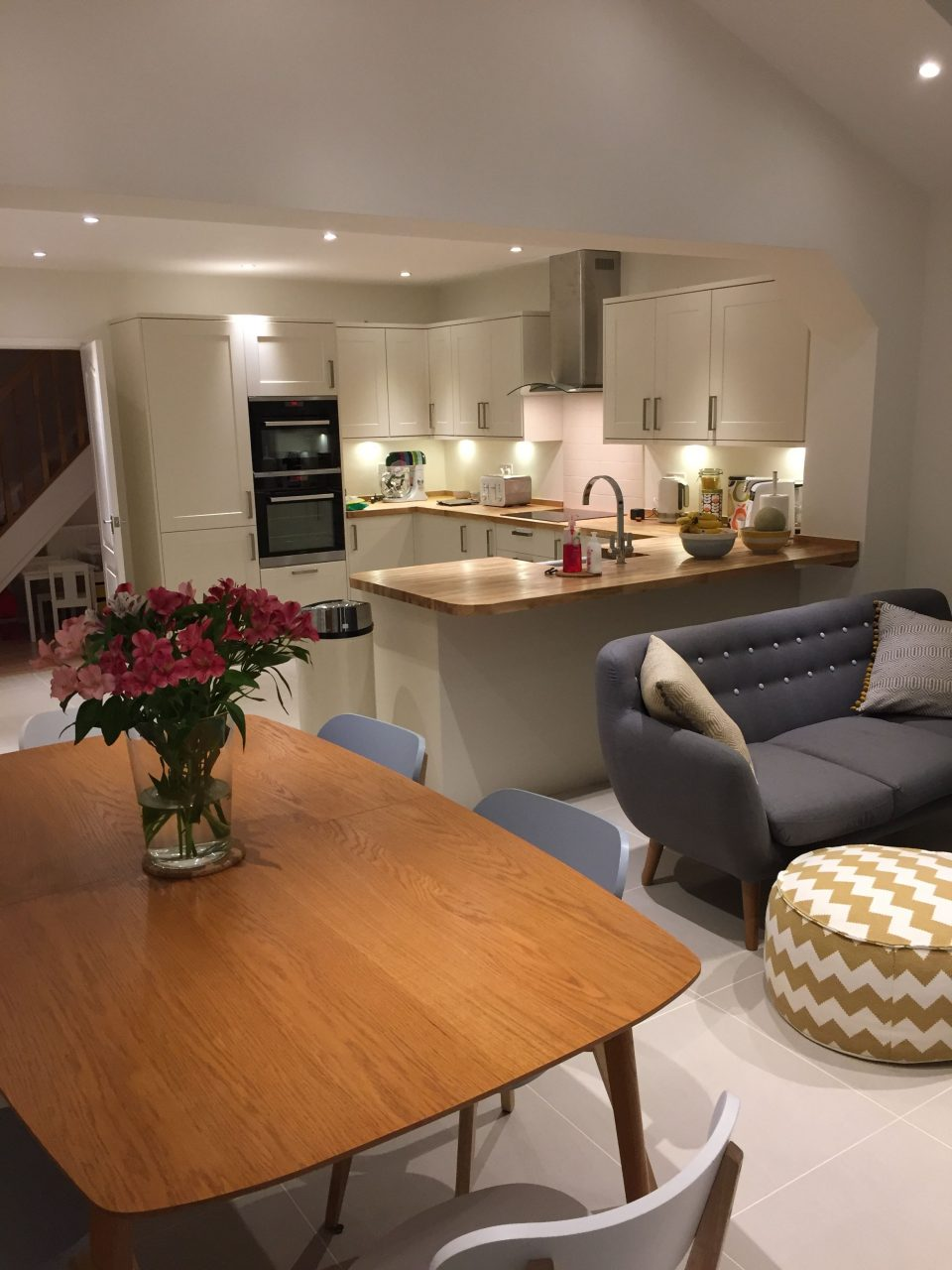 My Open Plan Kitchen Dining And Family Area Interiors Open