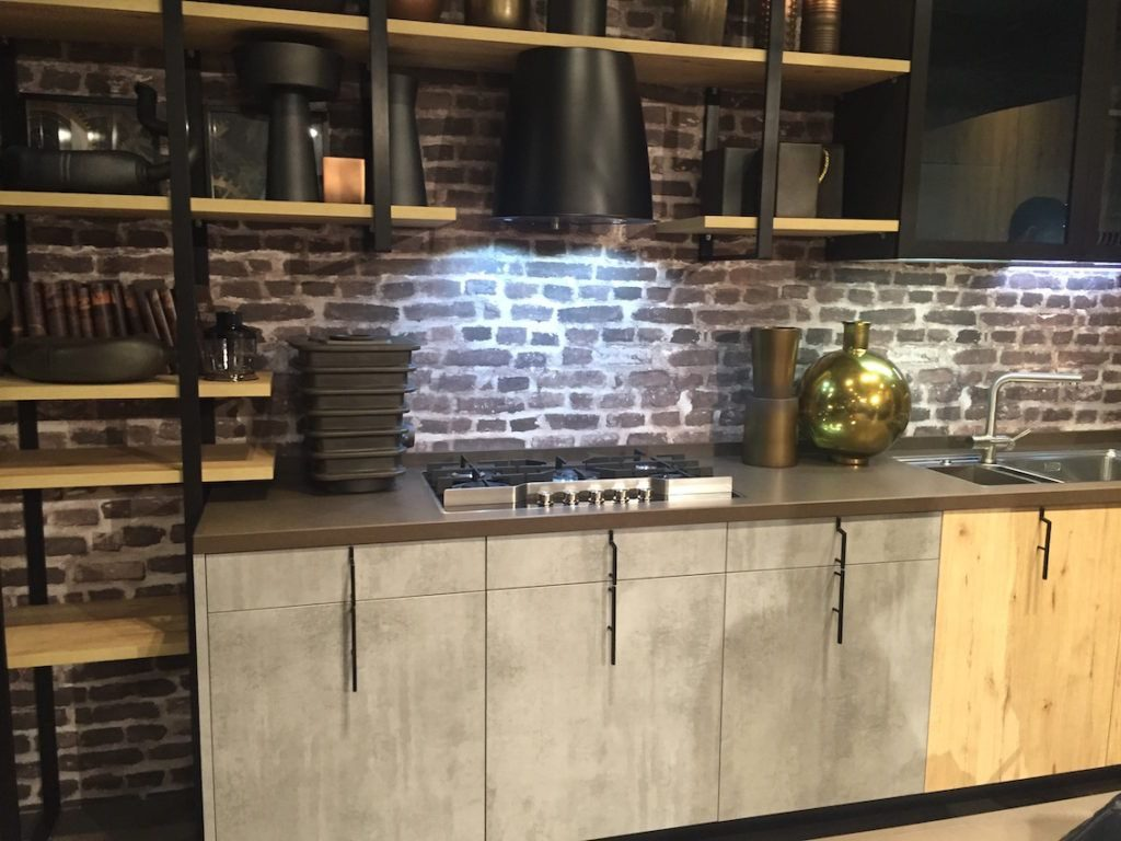 New Industrial Kitchen Cabinet Design Idea Houzz Full Size Of Decor