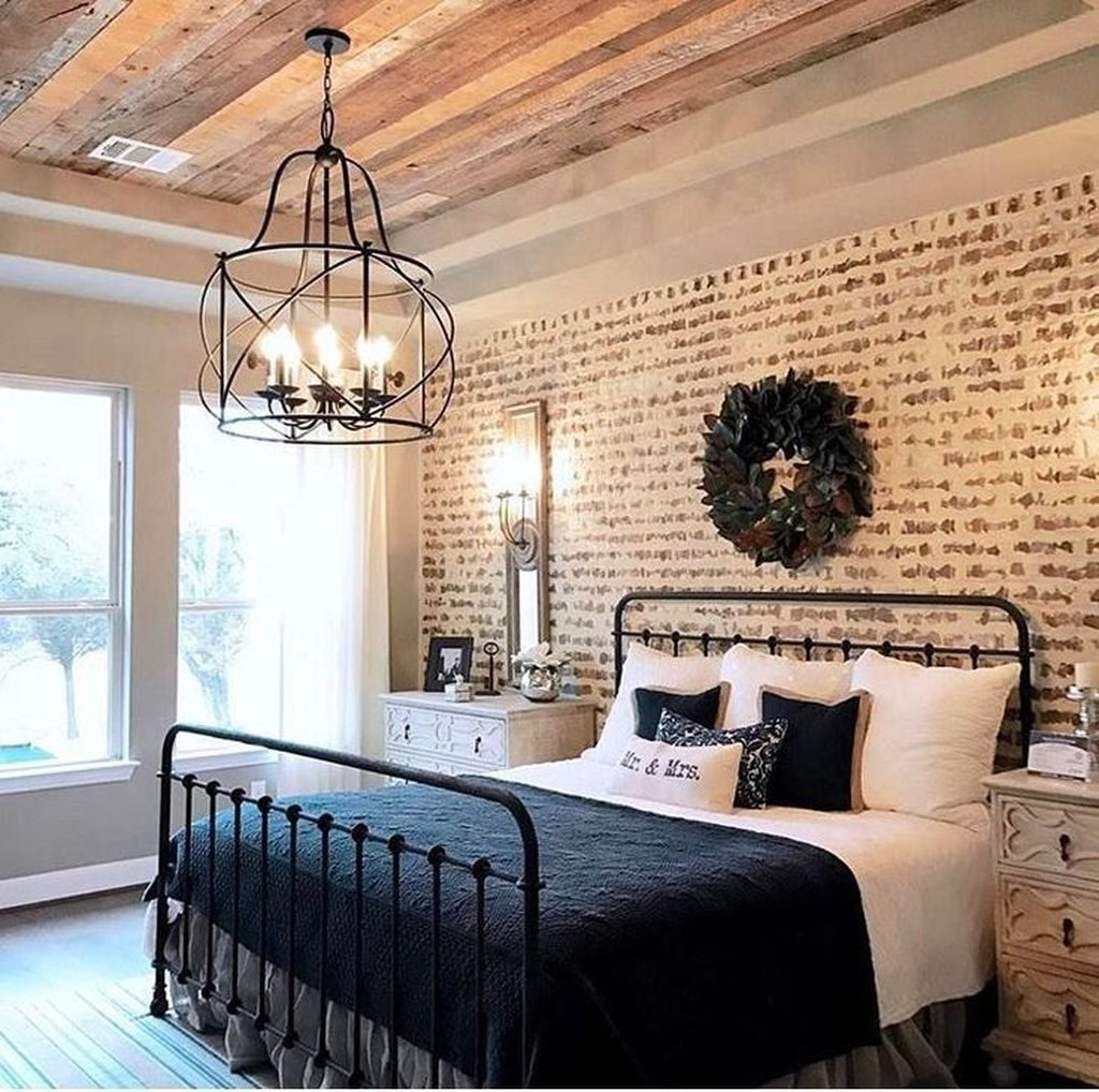 Nice 88 Relaxing Rustic Farmhouse Master Bedroom Ideas More At Http