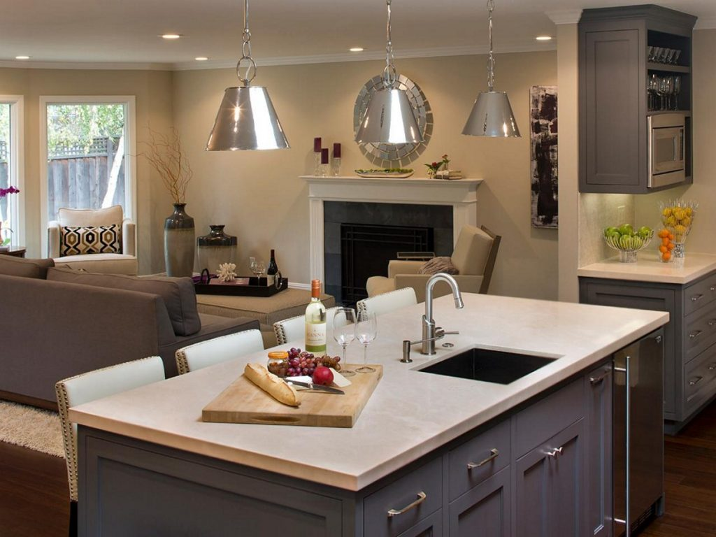 Nice Kitchen Island With Sink And Dishwasher For Your Home Ideas