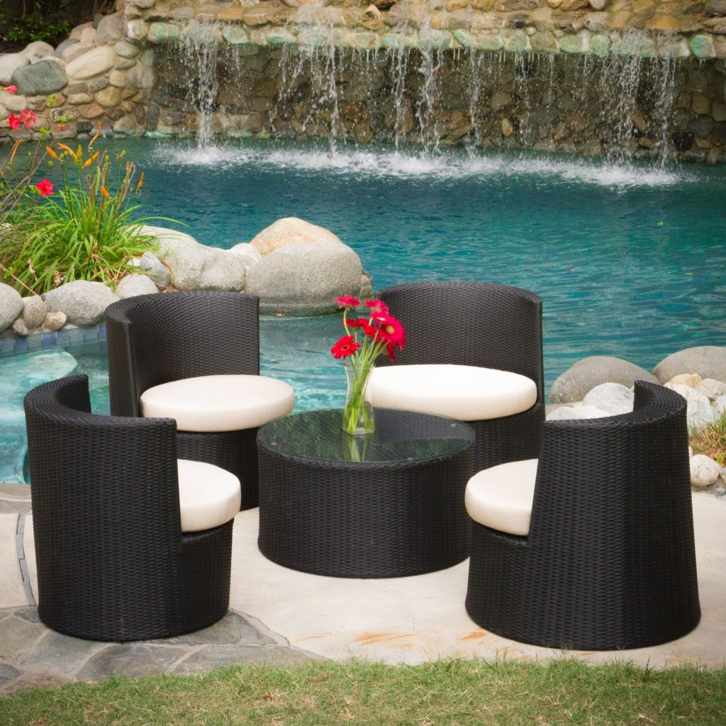 Oahu 5 Piece Outdoor Seating Group With Cushion Products