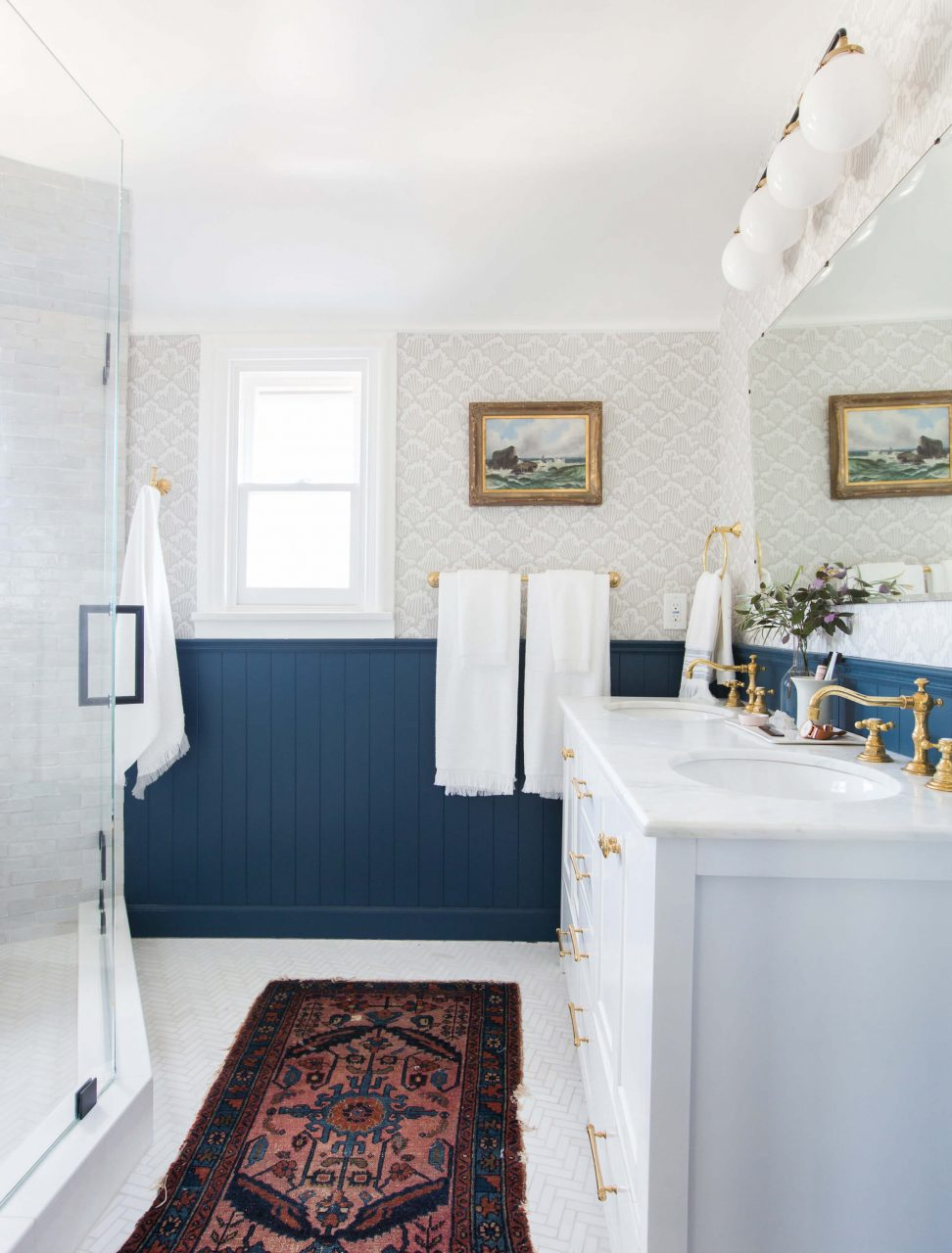 Our Classic Modern Master Bathroom Reveal Emily Henderson
