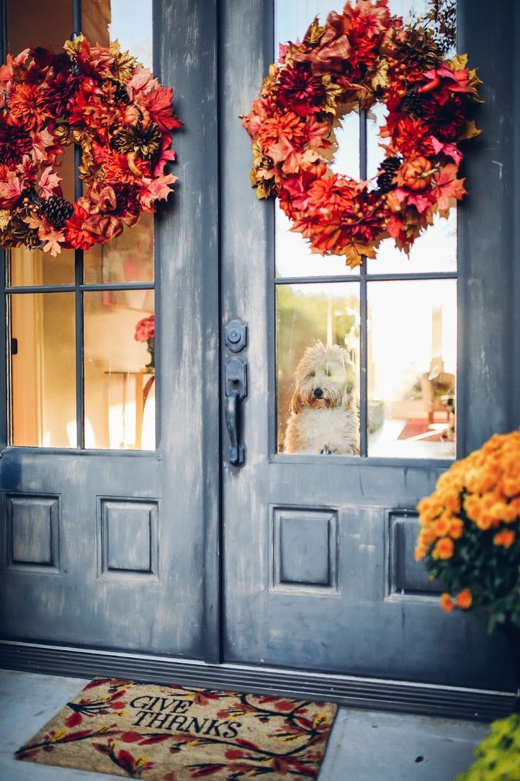 Our Fall Front Porch Decor Home Pinterest Autumn Home Fall
