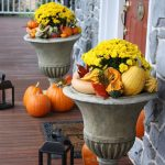 Fall Urn Decorating Ideas