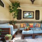 Moroccan Style Outdoor Patio
