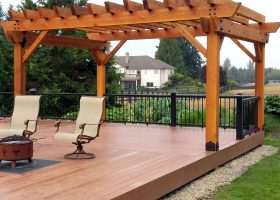 Outdoor Deck Pergola