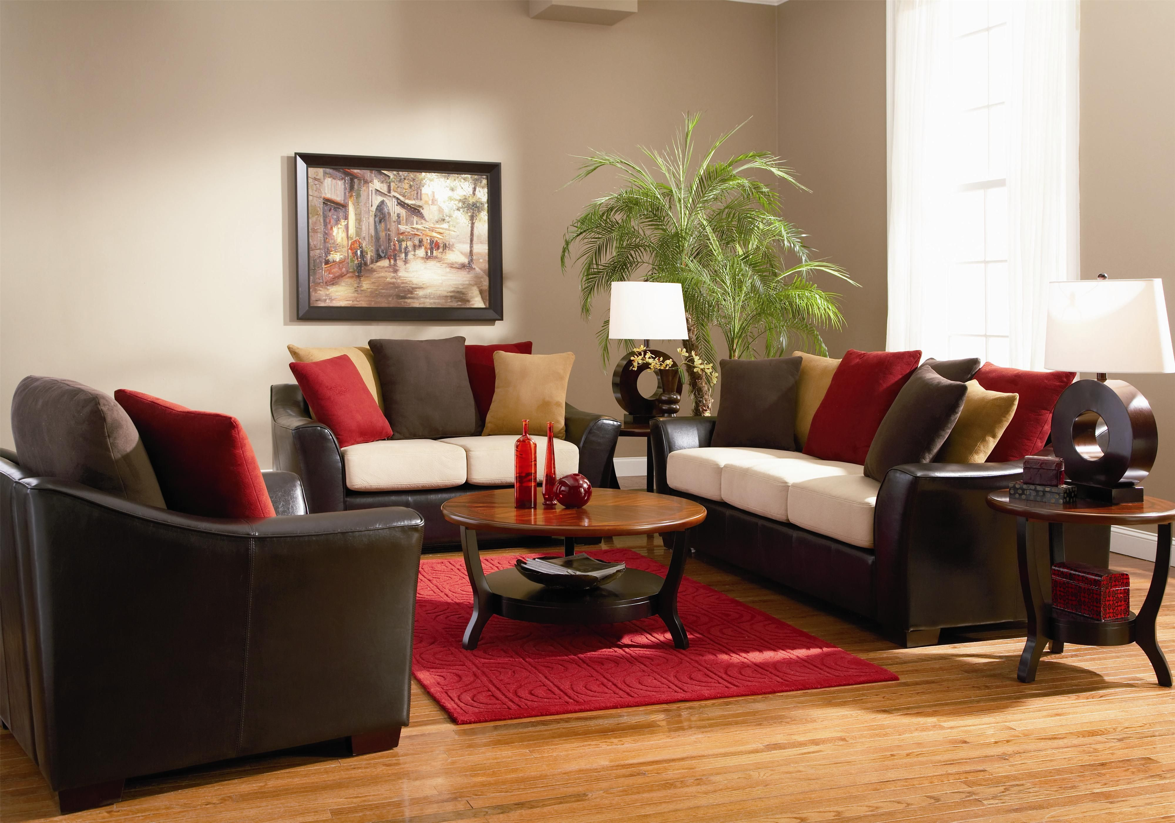 Painting Of Color Your Living Room With Awe And Couch Loveseat Set