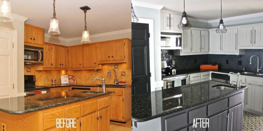 Painting Wood Kitchen Cabinets Image Cabinets And Shower Mandra