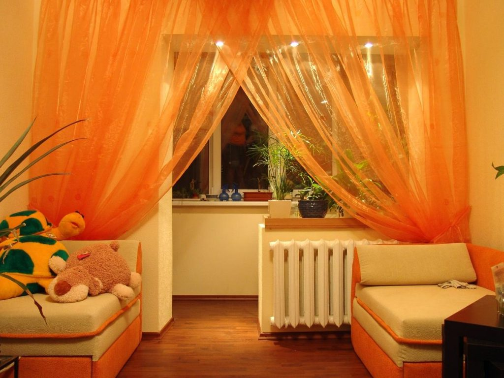Perfect Orange Curtains For Living Room Nice Orange Curtains For