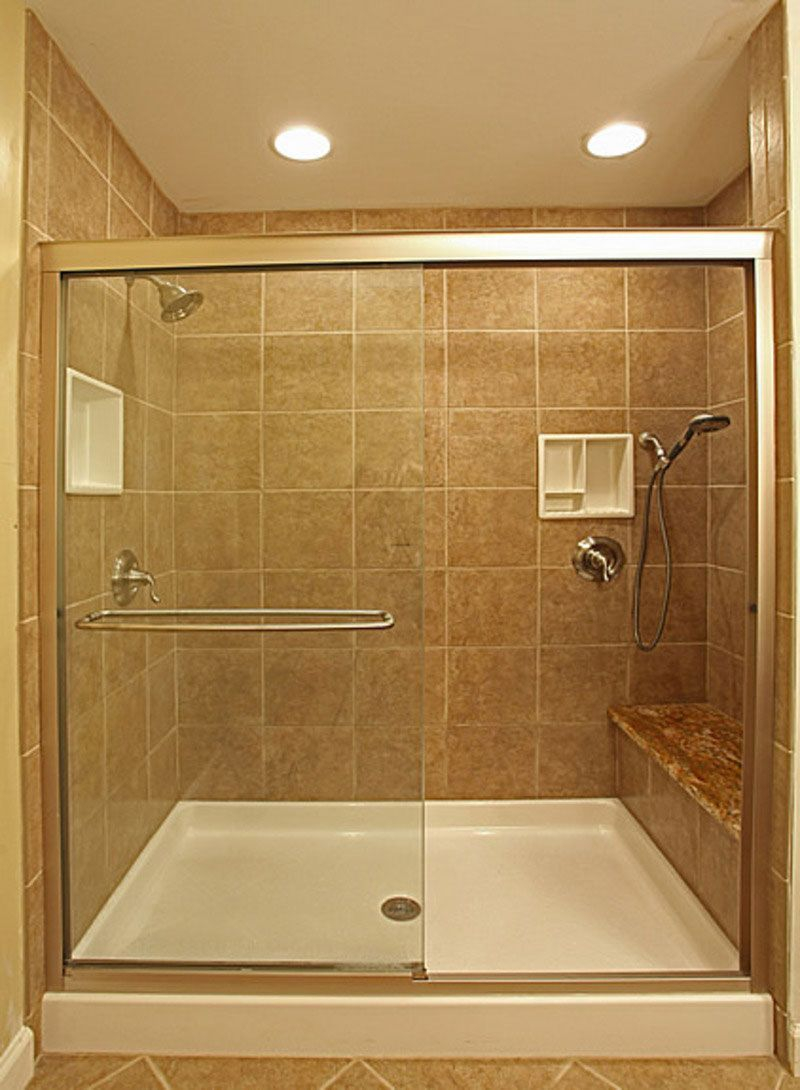 Pictures Of Shower Stalls With Tiles Cool Brown Bathroom