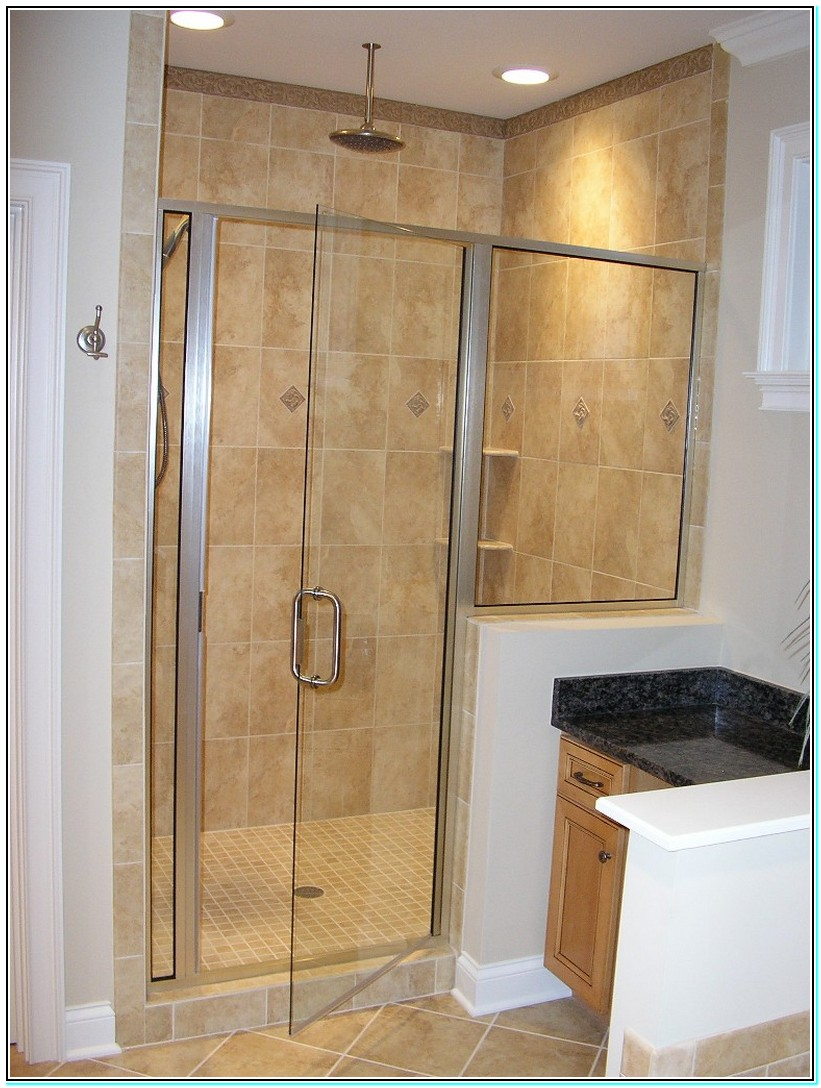 Pictures Of Tiled Showers With Glass Doors Shower Floor Tile Home Depot