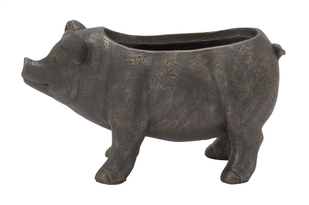Pig Ceramic Statue Planter Reviews Joss Main