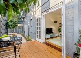 French Doors onto Deck