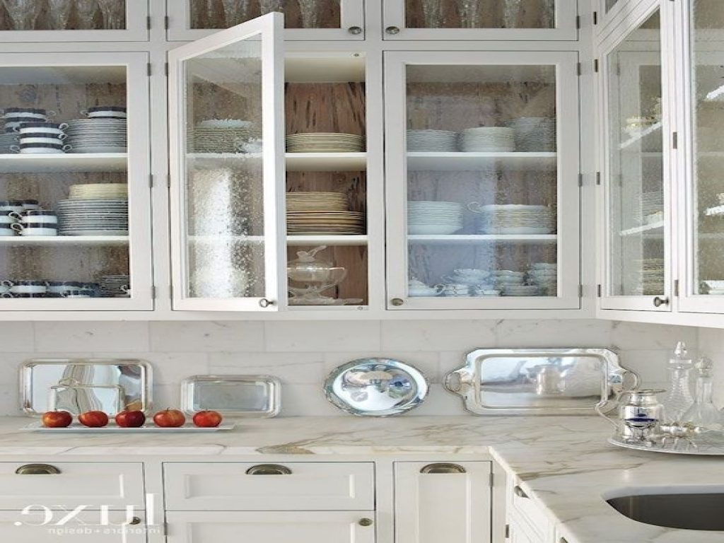 Popular Kitchen Cabinet With Glass Door For Awesome Decorating Bring